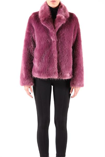 Rino&Pelle peak 700w19 fake fur coat kort