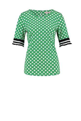 Riva big dot shirt light trav.