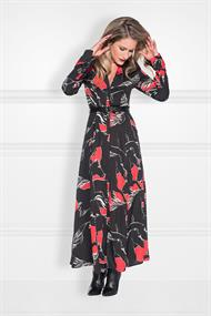 Roi long dress n 5-426 print