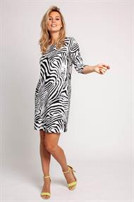 Roos zebra dress light travel
