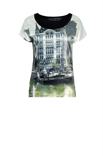 Rotterdam oude haven t-shirt