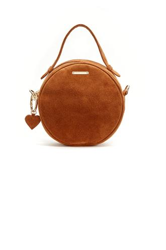 Roundy bag suede uni