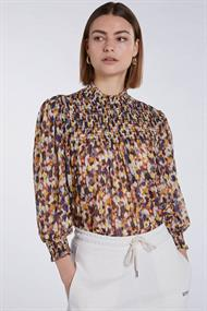 Set 73657 blouse faded flowers