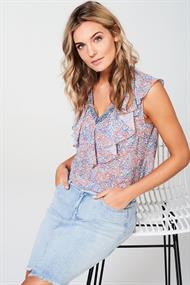 Silly flower print top