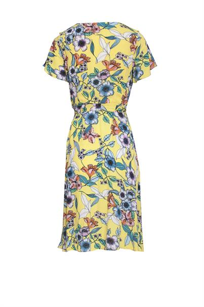 Smashed Lemon 20067 print jurk flowers