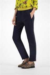 Sp5875 tricot broek pipping