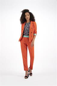 Sp5882 tricot blazer pipping