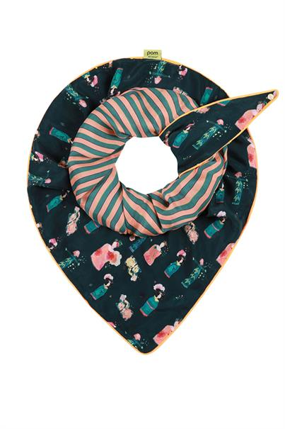 Sp6176 shawl double lucky c.
