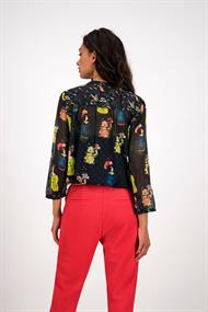 Sp6198 blouse lucky charms