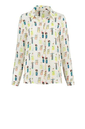Sp6201 blouse lucky charms