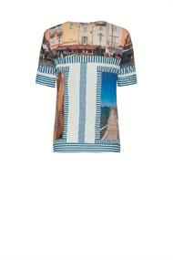 St.tropez print t-shirt crush