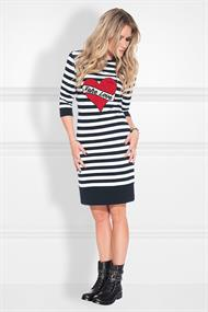 Stripe sweatdress n 5-818