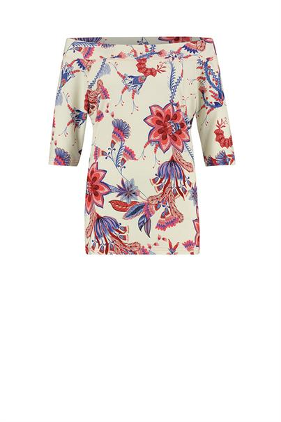 Studio Anneloes dolly flower viscose top