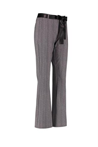 Studio Anneloes flair herringbone trousers