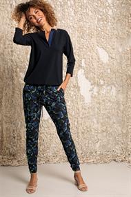Studio Anneloes loose fit cargo camo trousers