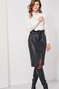 Studio Anneloes manya dull leather skirt