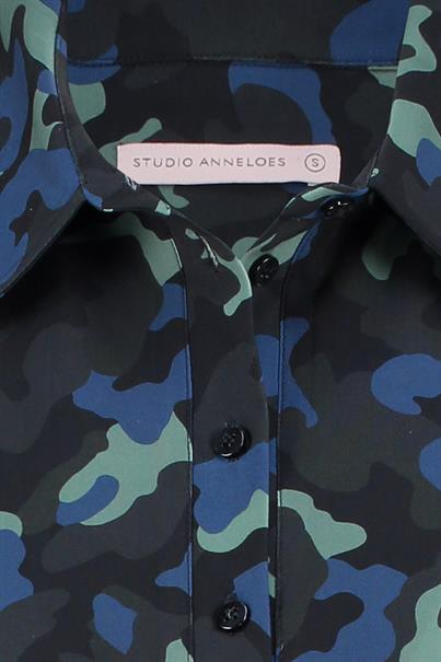 Studio Anneloes poppy camo shirt medium travel