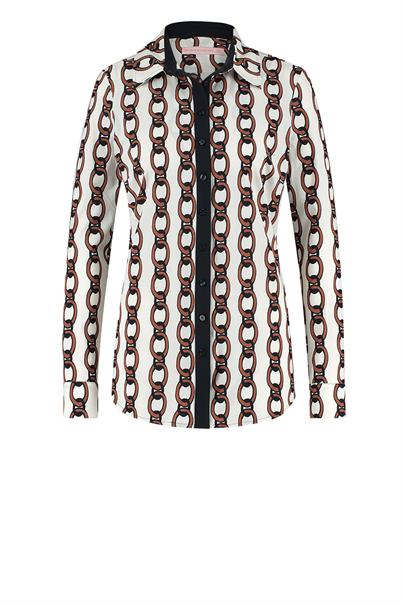 Studio Anneloes poppy chain blouse light tr.
