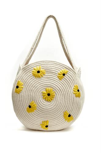Summer bag small sunny flowers
