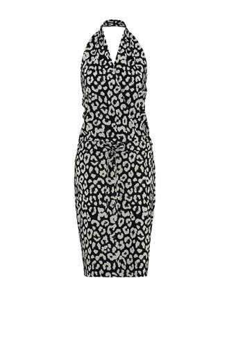 Summer big leopard dress