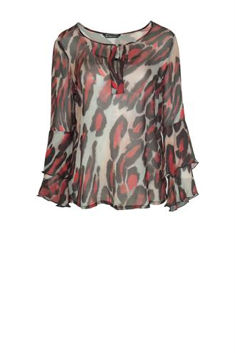Summum 2s1898-10329 leopard blouse