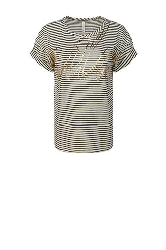 Summum 3s4502-30227 streep t-shirt