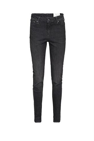 Summum 4s1988-5052 black denim studs