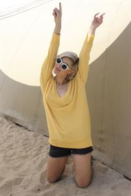 Sweat ivy sweater v-hals soft