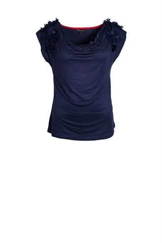 Tev162 t-shirt waterval hals