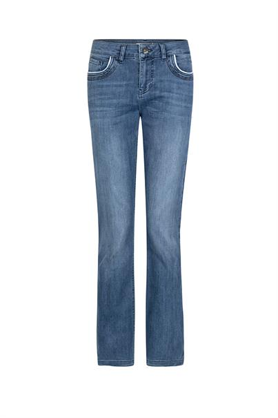 Tramontana d04-98-101 jeans flare pipping
