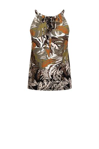Tramontana d17-95-401 top leaves print
