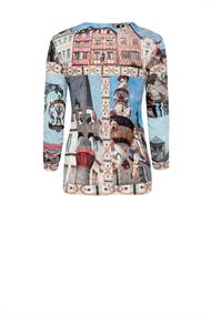 Trier church crush print shirt