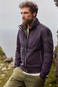 Tsuge man soft shell jacket