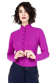 U719aw110 travel blouse ruches