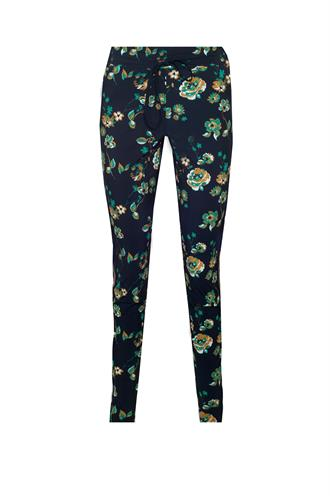 Upstairs flower trouser travel