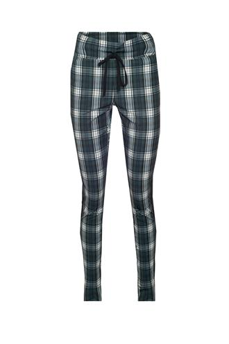 Upstrairs check trouser travel