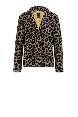 W18n320 coat leopard fluffy