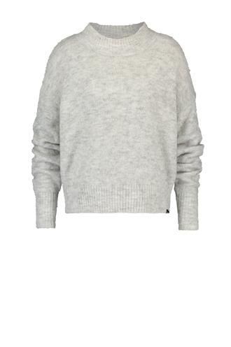 W19b055 pullover wol mix