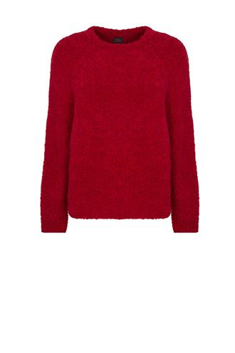 W19l100 pullover boucle kort