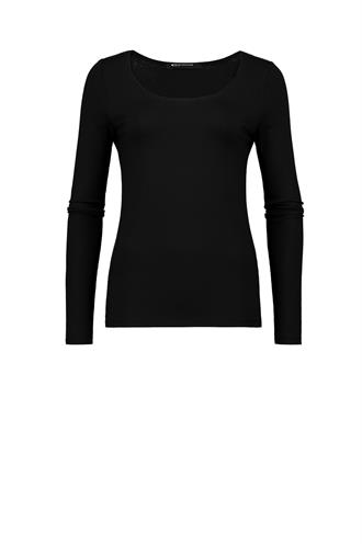 Xada stretch shirt lange mouw