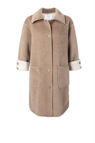 Yaya 162118-023 coat fake fur