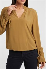 Yaya 1901308-022 blouse top ruffle